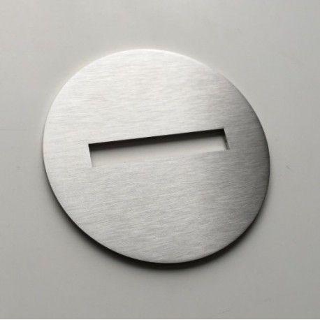 Pictogramme interdit entrer - Diam100 - Ep2 ou 4mm