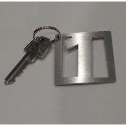 Porte-clés-inox-brosse-modèle-3