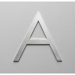 Design Century Gothic - Lettre inox brossé - Taille de 8 à 30cm