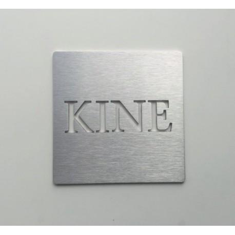 Pictogramme inox Kine - 100x100 ou 150x150