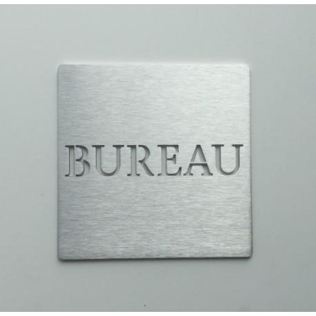 Pictogramme inox Bureau - 100x100 ou 150x150