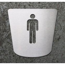 Pictogramme homme toilettes - 170x160 - FIN DE SERIE