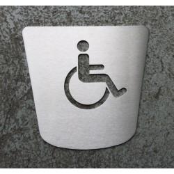 Pictogramme PMR toilettes - 170x160 - FIN DE SERIE