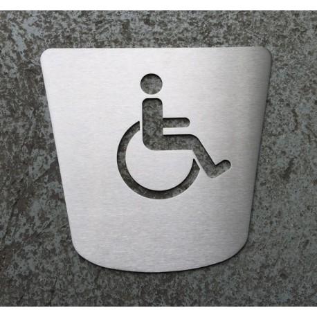 Pictogramme PMR toilettes - 170x160 (FIN DE SERIE)