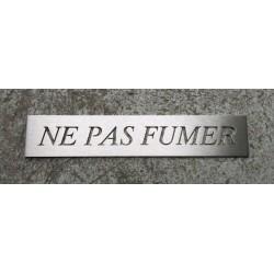 Pictogramme Ne Pas Fumer - 250 x 45mm