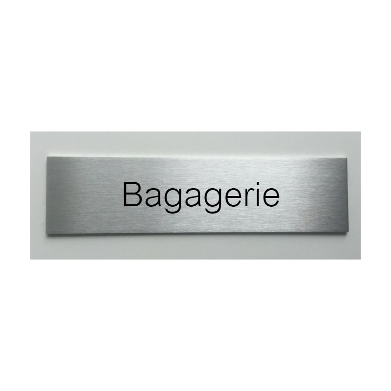 plaque de porte d interieur inox brosse bagagerie 150x50 ou 200x50. Black Bedroom Furniture Sets. Home Design Ideas