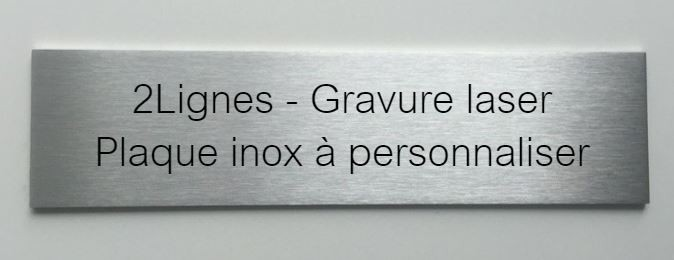 plaque inox plaque de maison design achat vente chiffre en plaque inox coup e with plaque inox. Black Bedroom Furniture Sets. Home Design Ideas