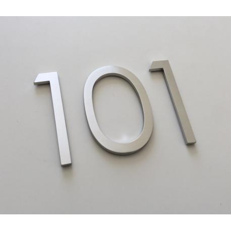 Design Century Gothic - Chiffre inox - Taille de 8 à 50cm