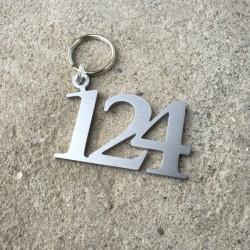 Porte-cles chiffre hôtels - 3cm ep2mm / 5cm ep2mm / 5cm ep4mm