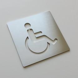 Pictogramme fauteuil PMR - 100x100 ou 150x150mm