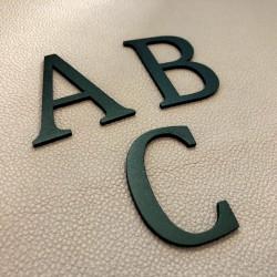 Design Lacier - Lettre inox avec peinture au four - Taille de 5 à 50cm