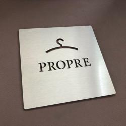 Pictogrammes VESTIAIRE PROPRE - 100x100 ou 150x150mm