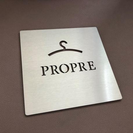 Pictogrammes VESTAIRE PROPRE - 100x100 ou 150x150mm