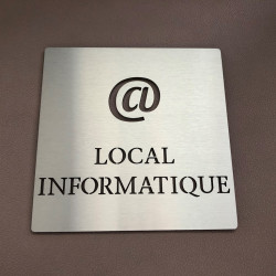 Pictogramme LOCAL INFORMATIQUE - 100x100 ou 150x150mm
