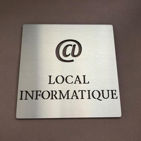 Pictogramme LOCAL INFORMATIQUE - 100x100 ou 150x150mm