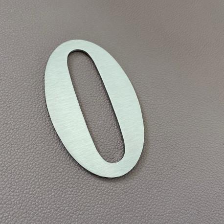 Num/éro de maison chiffres et lettres adh/ésifs d/écoup/és Num/éro Ter Hauteur 6 cm Num/éro de rue gris mat 16 coloris disponibles
