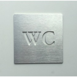 Pictogramme WC - 100x100 ou 150x150mm