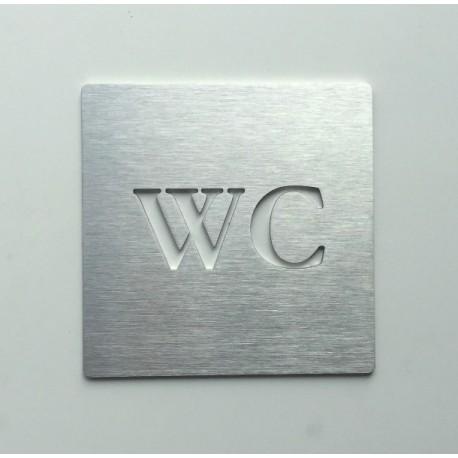 Pictogramme WC - 100x100 ou 150x150mm
