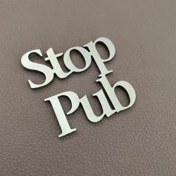 Pictogramme Stop Pup 6x6cm