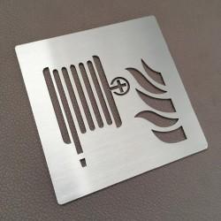Pictogramme robinet d'incendie armé - 100x100 ou 150x150mm