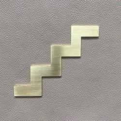 Pictogramme Laiton Escalier - 10 / 15cm