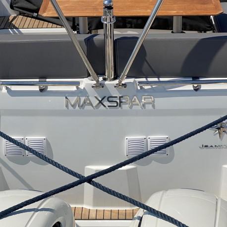 Design FORMATION - Enseigne pour bateaux - Hauteur de 5 à 100cm - Finition poli miroir ou brossé