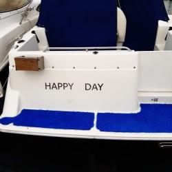 Design Arial - Enseigne pour bateaux - Hauteur de 5 à 100cm - Finition poli miroir ou brossé