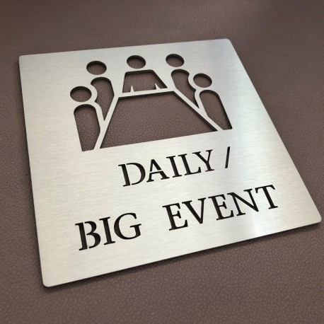 Pictogramme Daily / Big Event - 100x100 ou 150x150mm