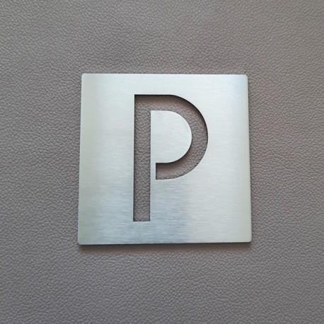 "Pictogrammes Parking ""P"" - 100x100 ou 150x150mm"