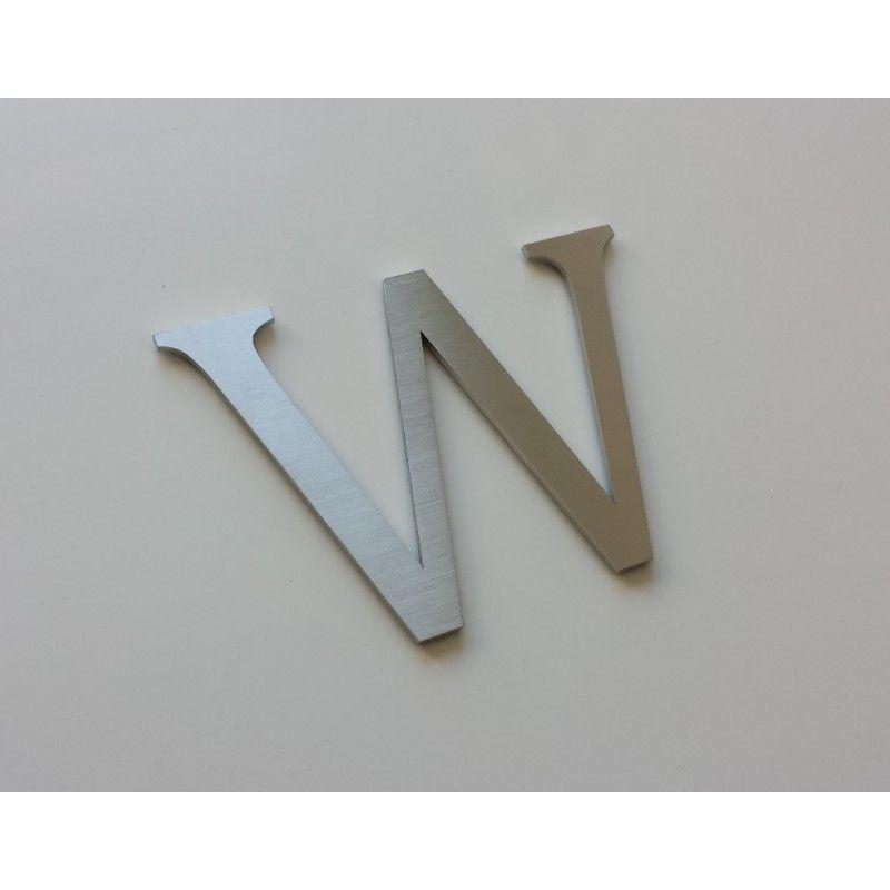 design lacier lettre inox bross taille de 5 30cm accueil. Black Bedroom Furniture Sets. Home Design Ideas