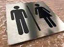 pictogramme toilettes homme femme