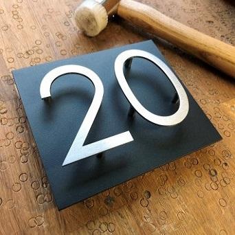 Numéros plaques